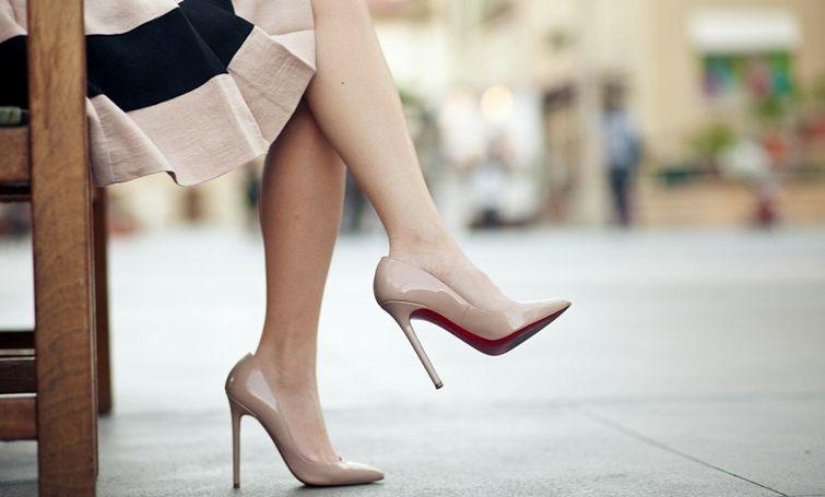 Классические туфли лодочки - фото
