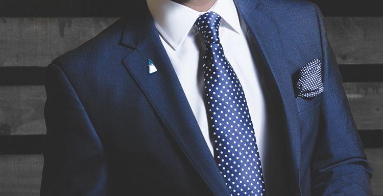 Этикет ношения галстука