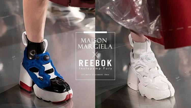 Maison Margiela и Reebok - таби