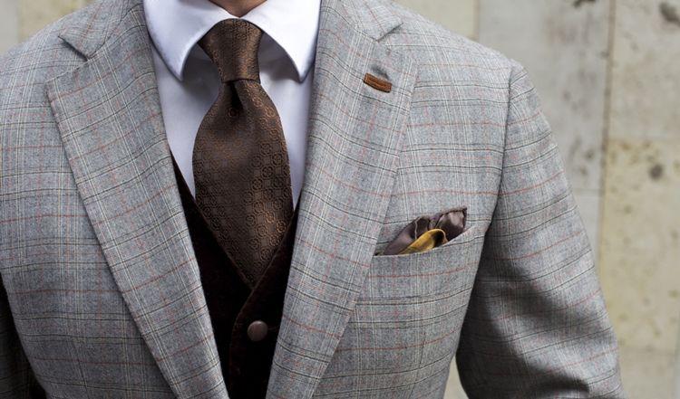 Виды галстуков - фото