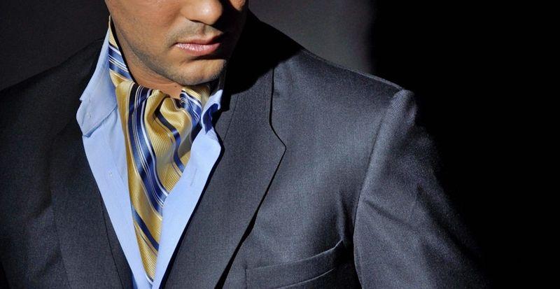 Все виды галстуков - Аскот