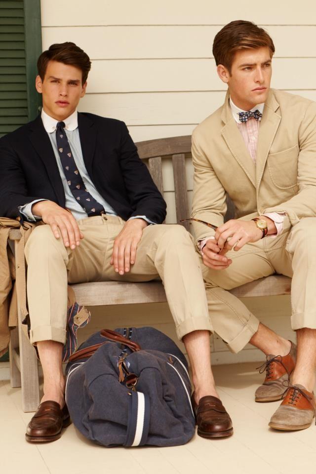 Мужская обувь Preppy
