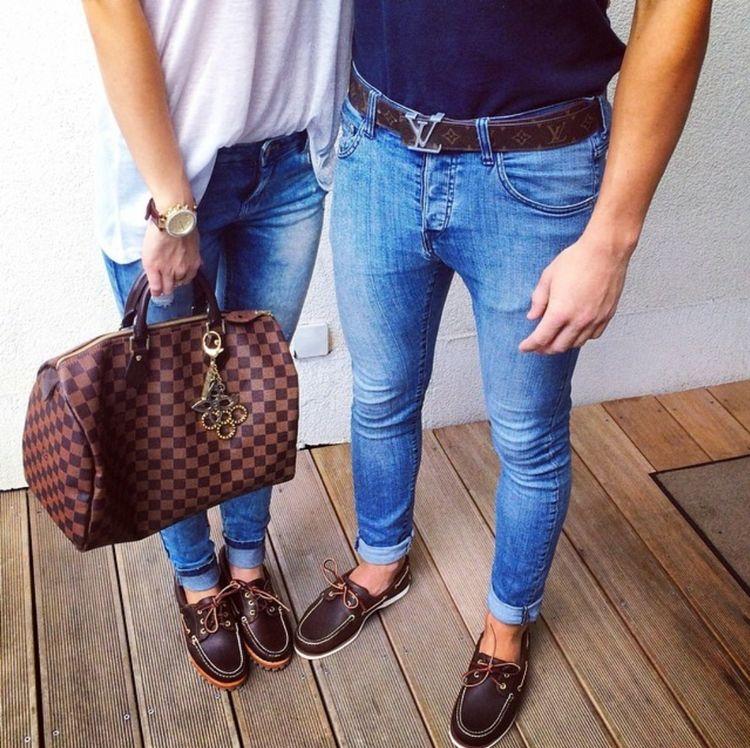 Мужские и женские топсайдеры