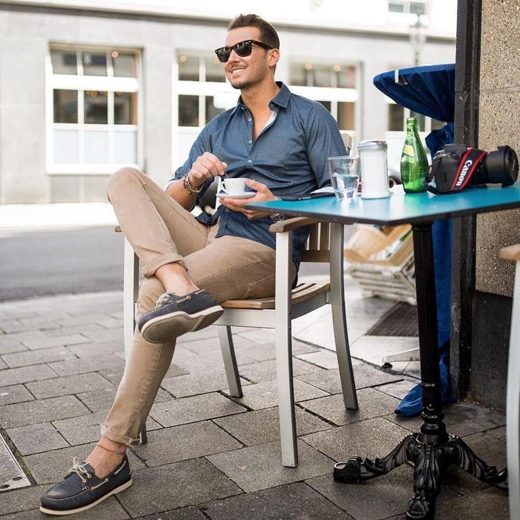 Топсайдеры мужские и женские, как выбрать, с чем носить, фото