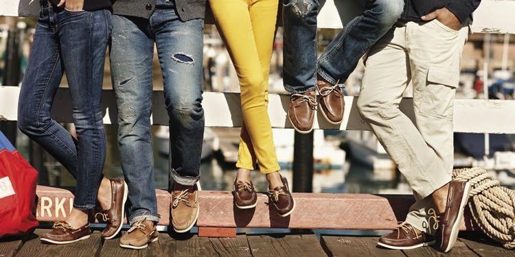 Туфли для палубы
